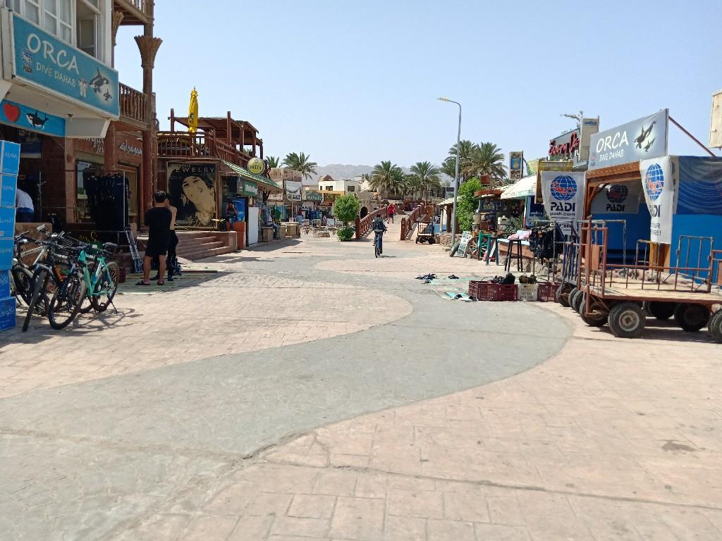 الممشى السياحي - مدينة دهب