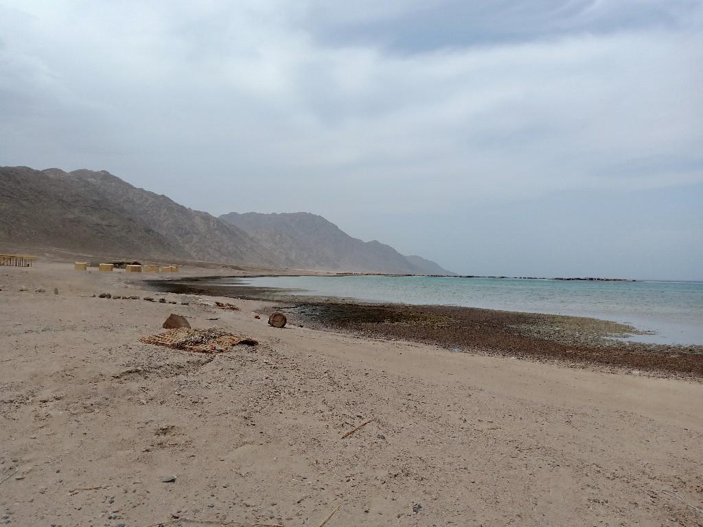 شاطئ بلو لاجون بوادي أبو جالوم